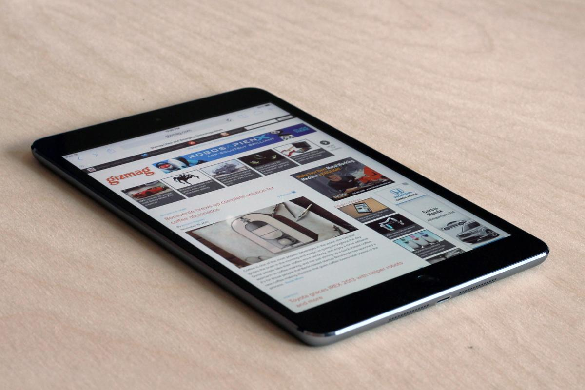 Gizmag reviews Apple's new (2nd generation) iPad mini with Retina Display
