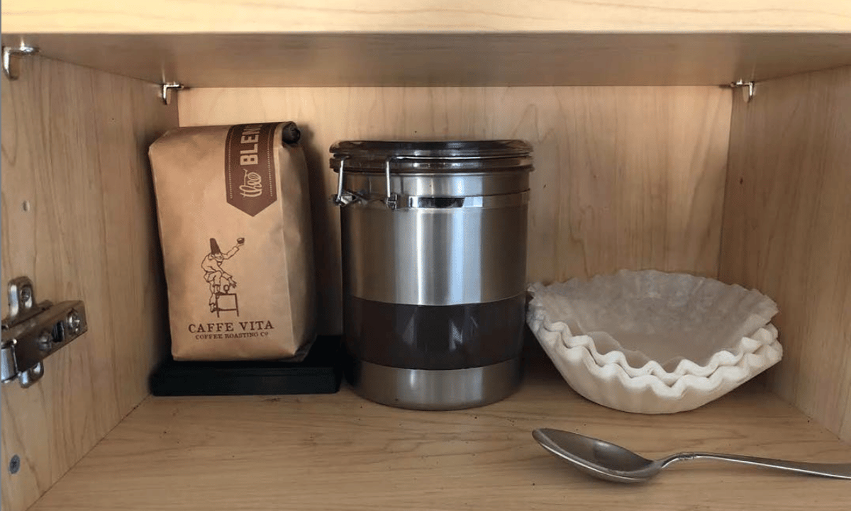 A Seattle solution to a Seattle problem: Bottomless automatically orders fresh coffee beans when it detects you're running low