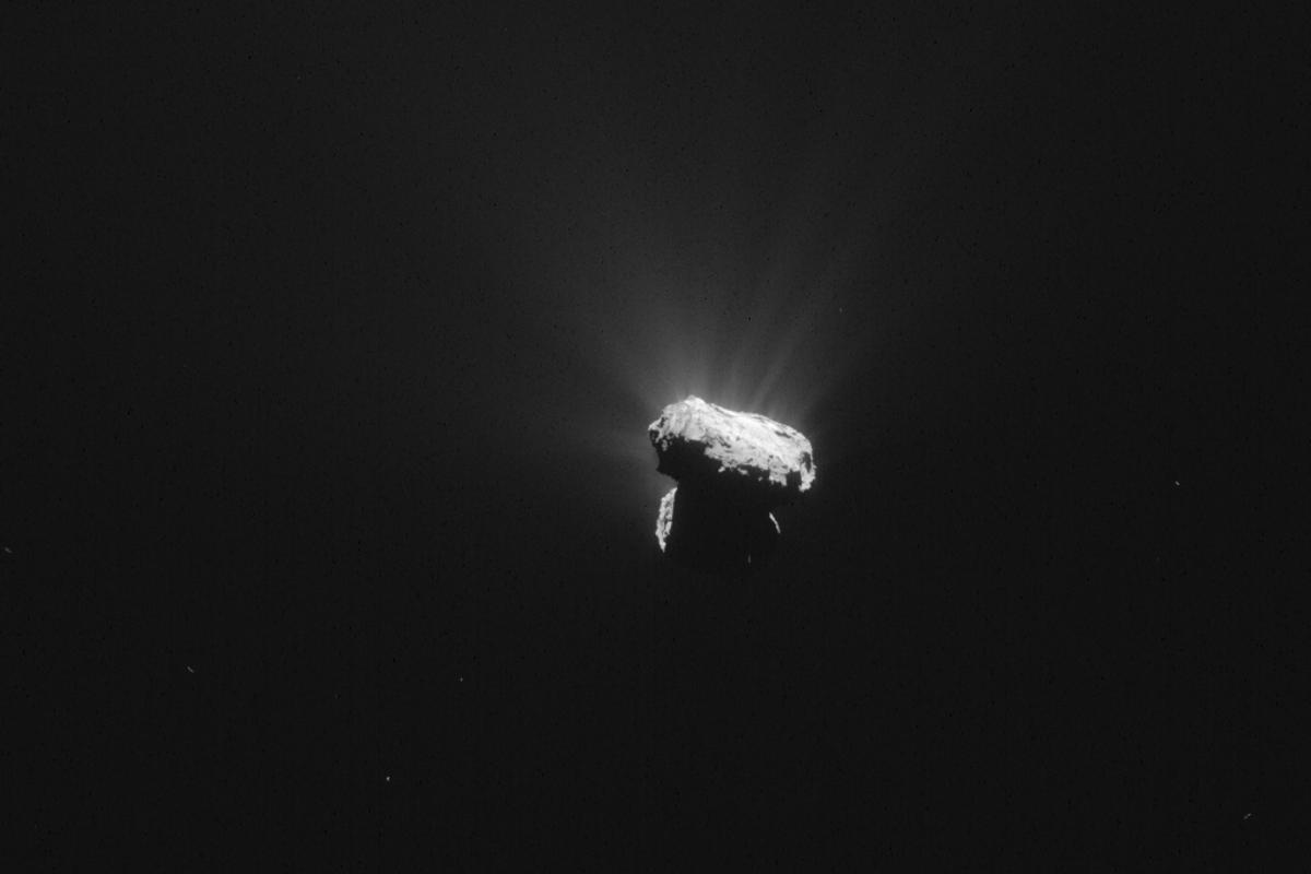 Comet 67P at perihelion