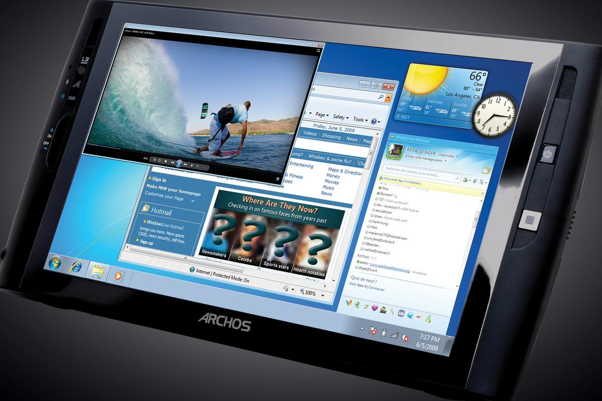 Archos has given its Windows 7 tablet PC a bit of a performance upgrade - now coming with a better processor and SSD storage