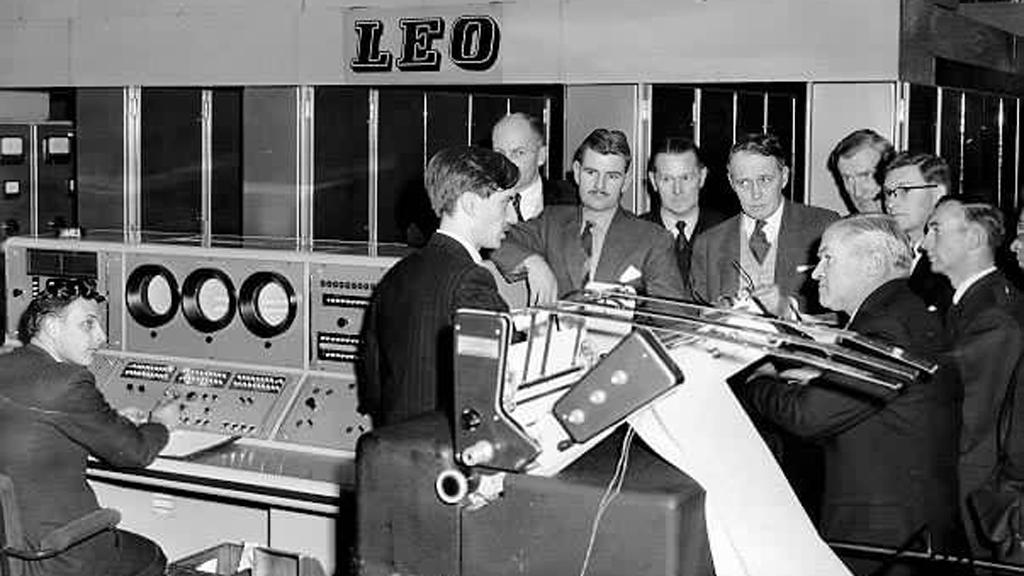 The world's first commercial computer, LEO II/3, at Stuart and Lloyds steel company