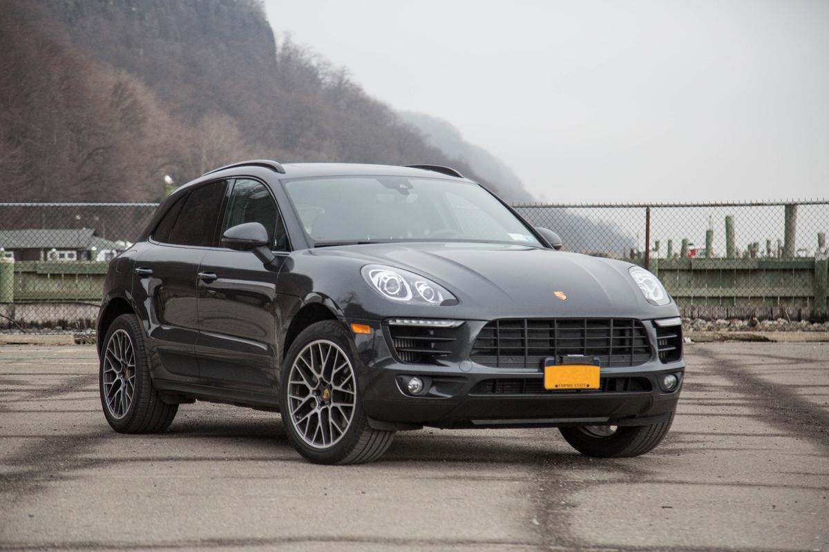The Porsche Macan S is powered by a turbocharged flat six