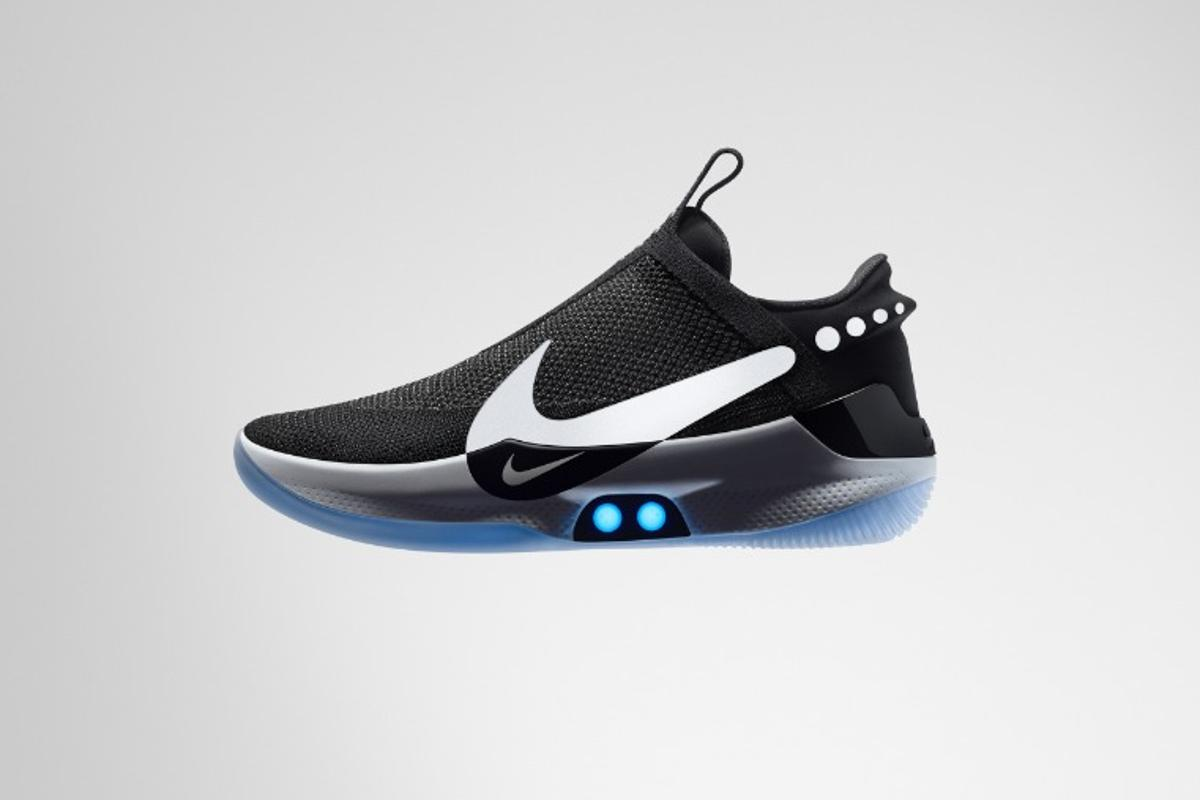 The Nike Adapt BB shoes are expected to become available in the springtime of 2019