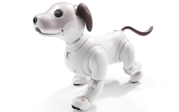 The latest iteration of Sony's aibo robot companion looks more pooch-like than ever before