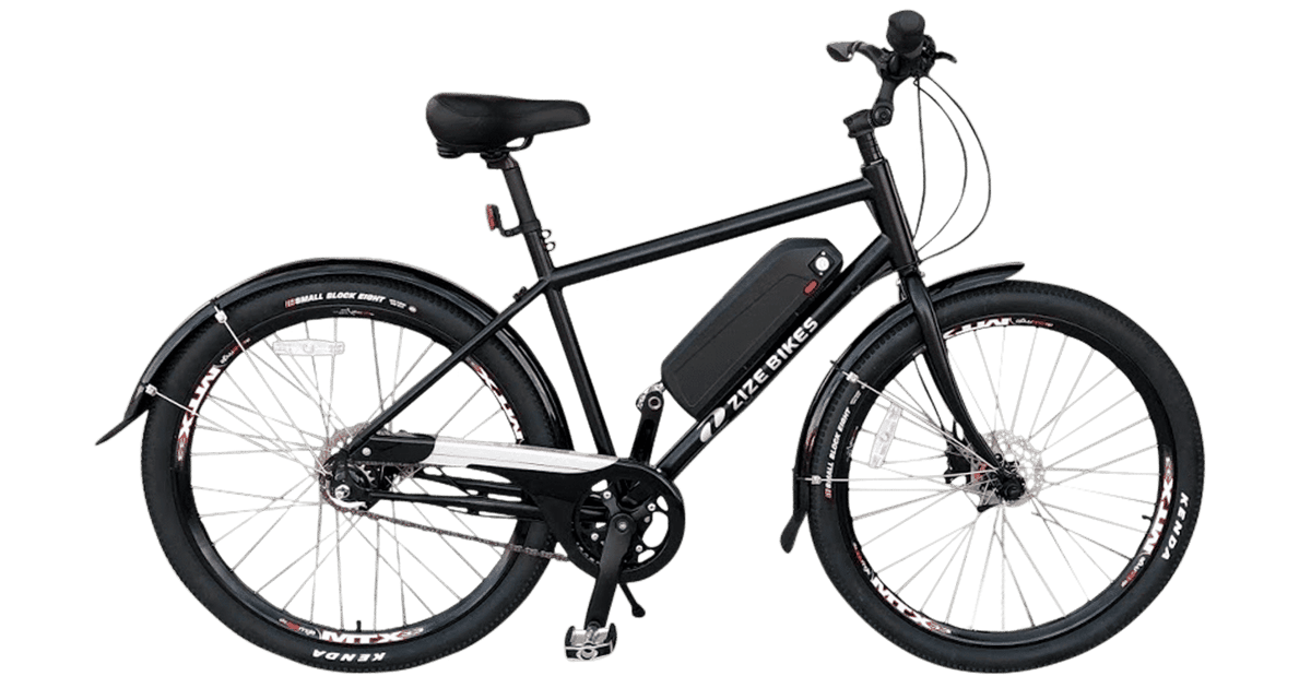 Zize's New Leaf 3.0 ebike gets the biggest, heaviest riders moving