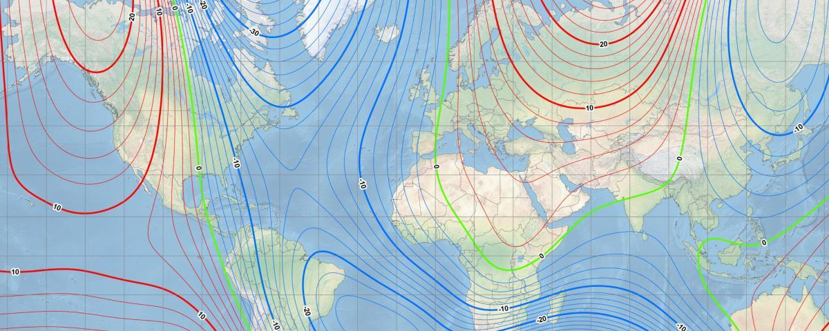 An update to the World Magnetic Model (WMM)was required earlydue to the north magnetic pole moving faster than expected