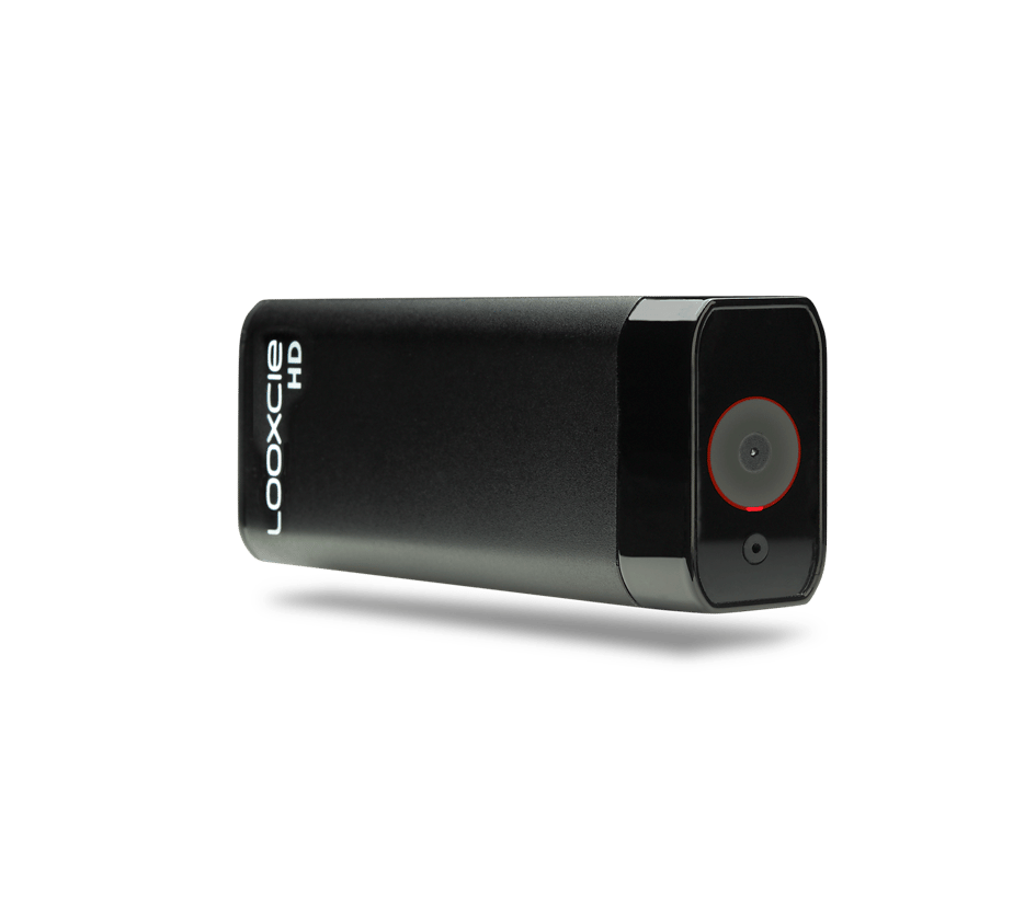 The Looxcie HD is capable of recording video at 1080p (30 fps), 720p (60 fps), or 480p (30 fps) resolution
