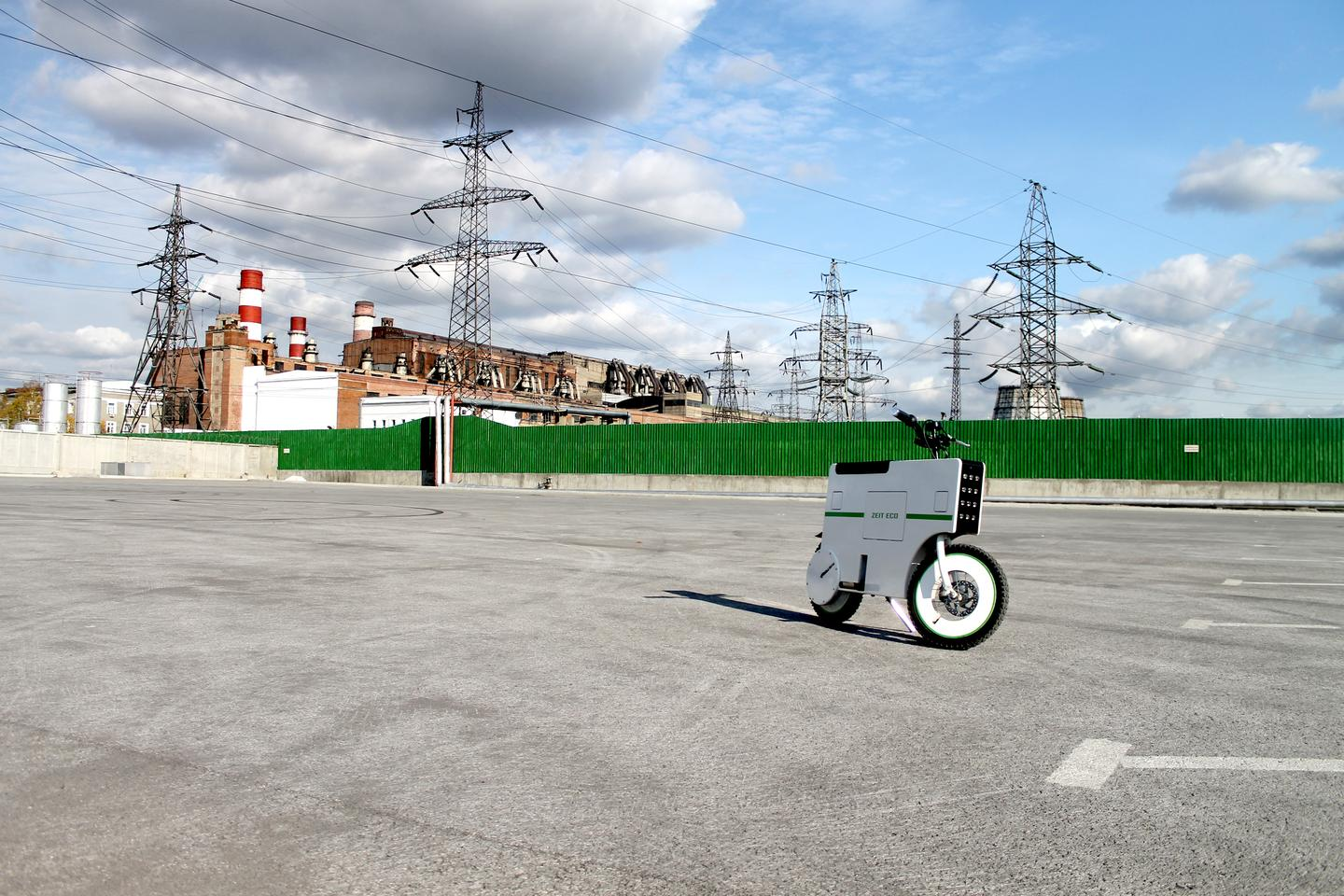 Post-Kickstarter, the e-scooter is expected to cost somewhere in the region of $2,000