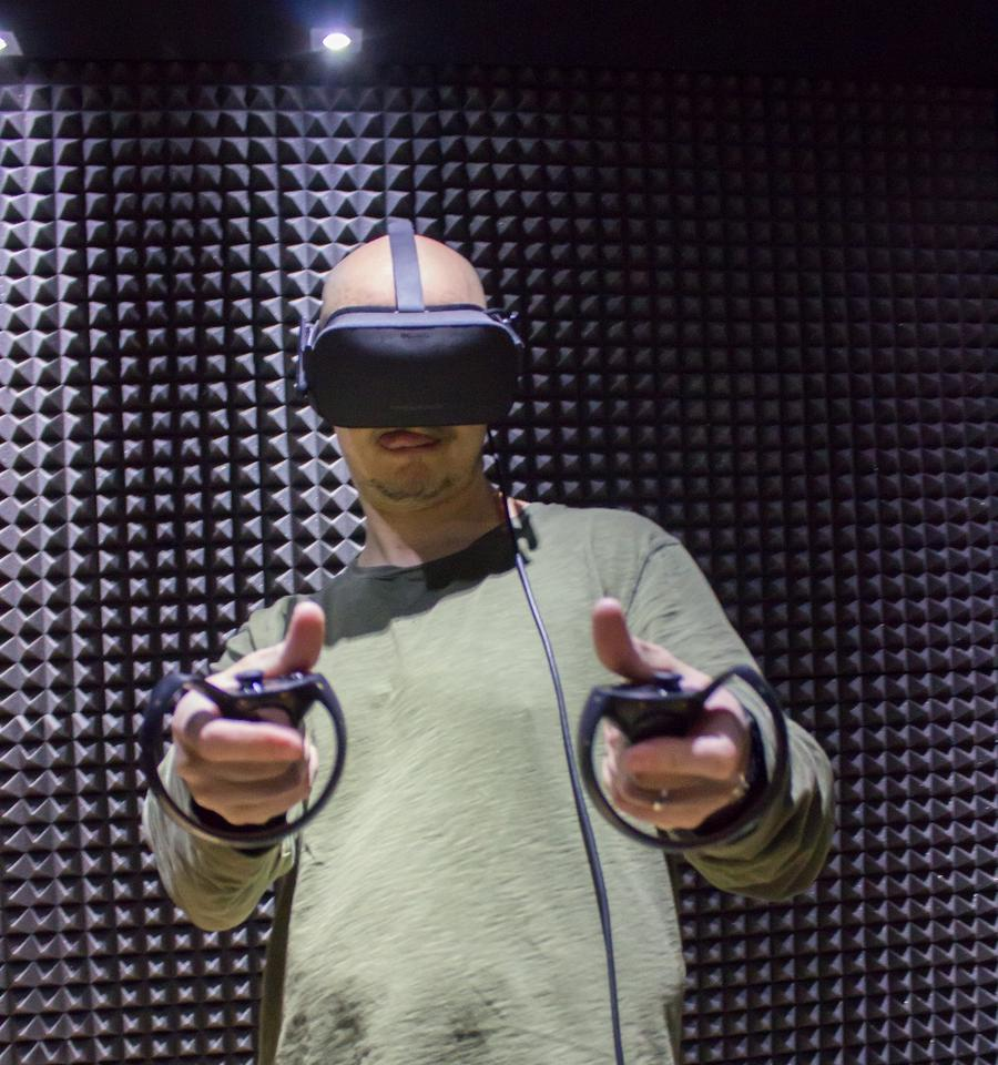 """Eeeeeey"" – is this a VR Fonzie simulator?"