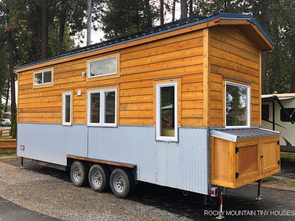 Off-grid tiny house has some surprises inside