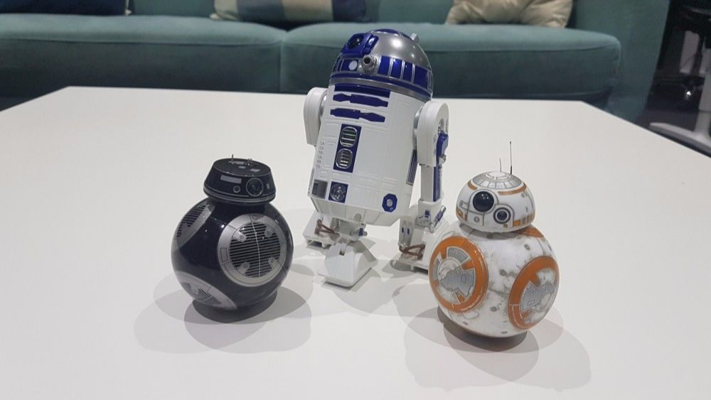 Sphero, makers of the Star Wars toy bots shown above, has launched a new startup to develop robots and AI software for people with dangerous jobs
