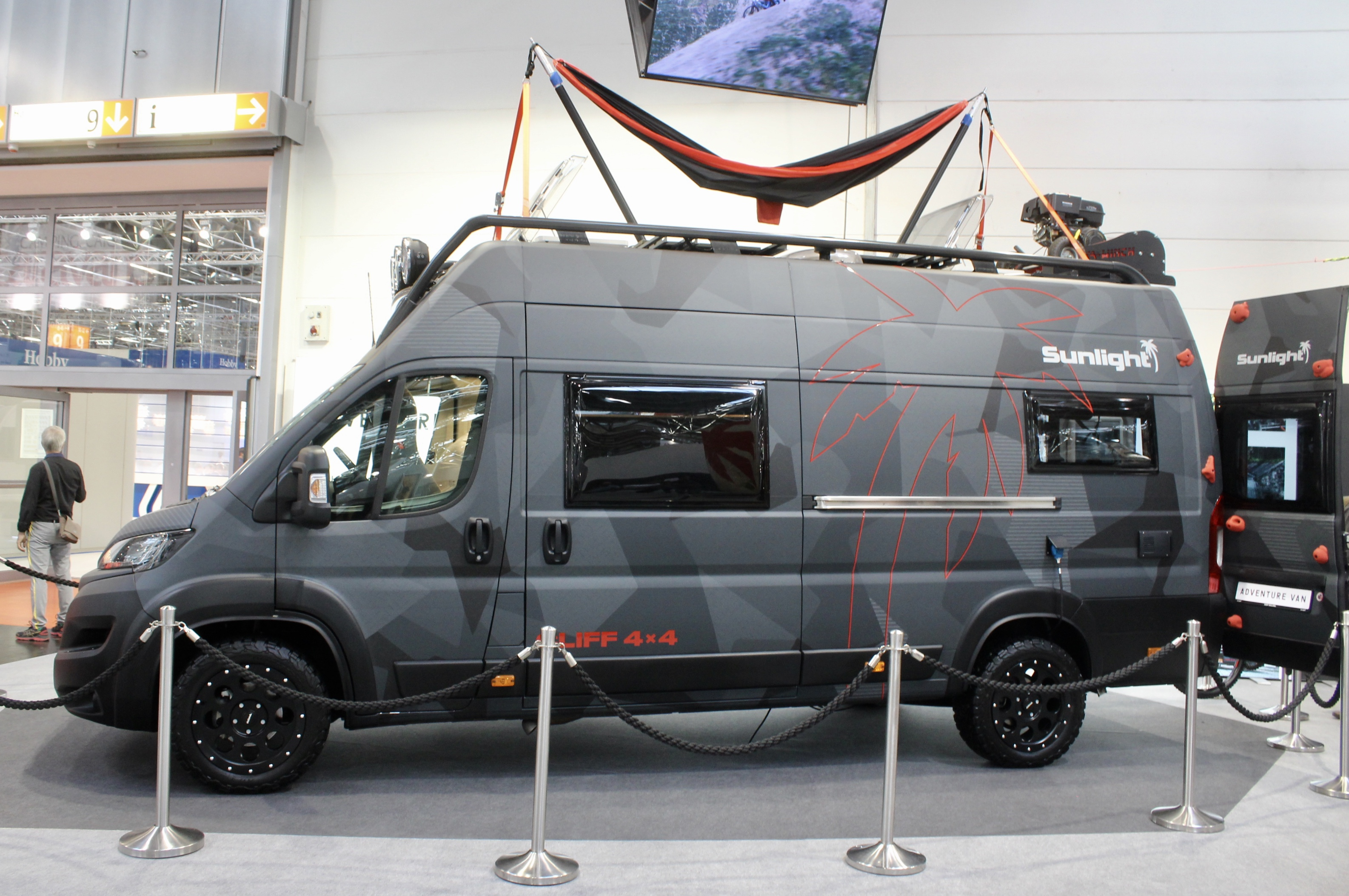 Five top Düsseldorf 2019 adventure camper vans