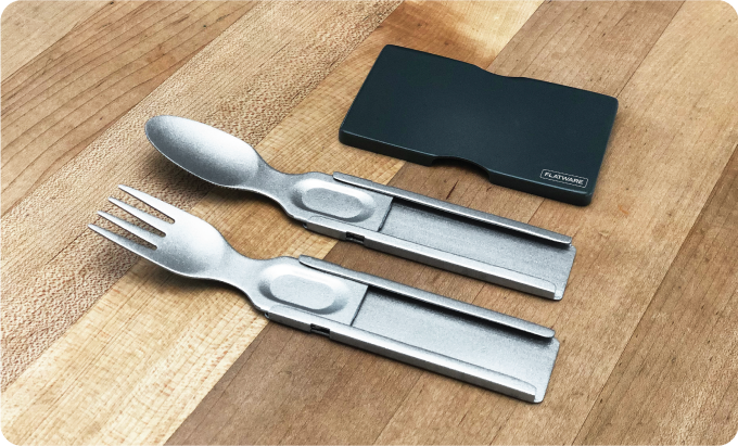 GoSun launches a new breed of EDC knife (and fork) to fit in a wallet