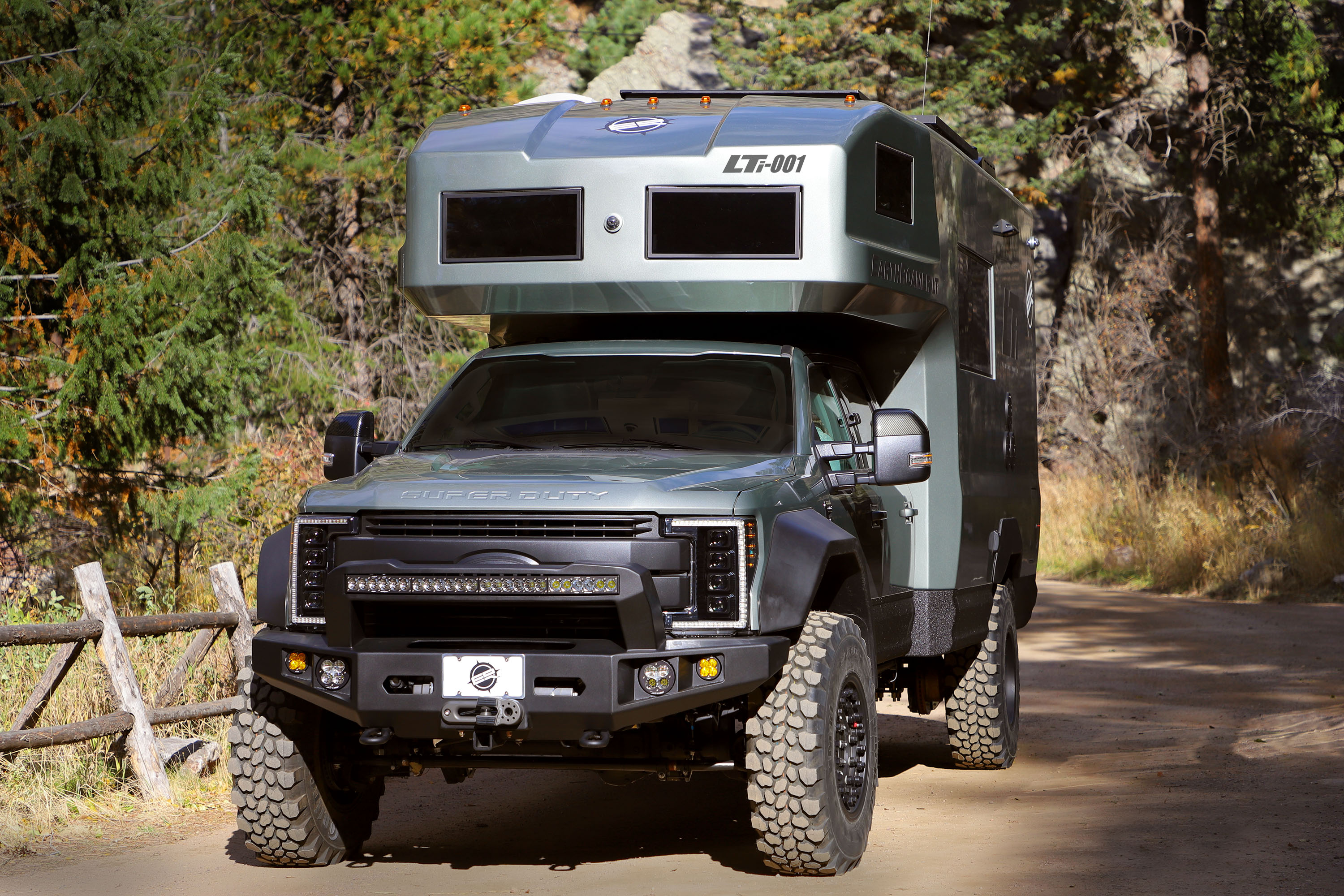 EarthRoamer adds carbon fiber monocoque to beastly off-grid motorhome