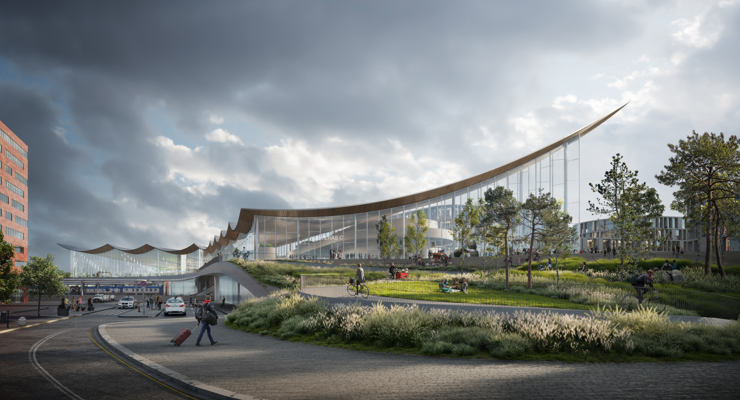 The Västerås Travel Center is expected to be completed in 2025