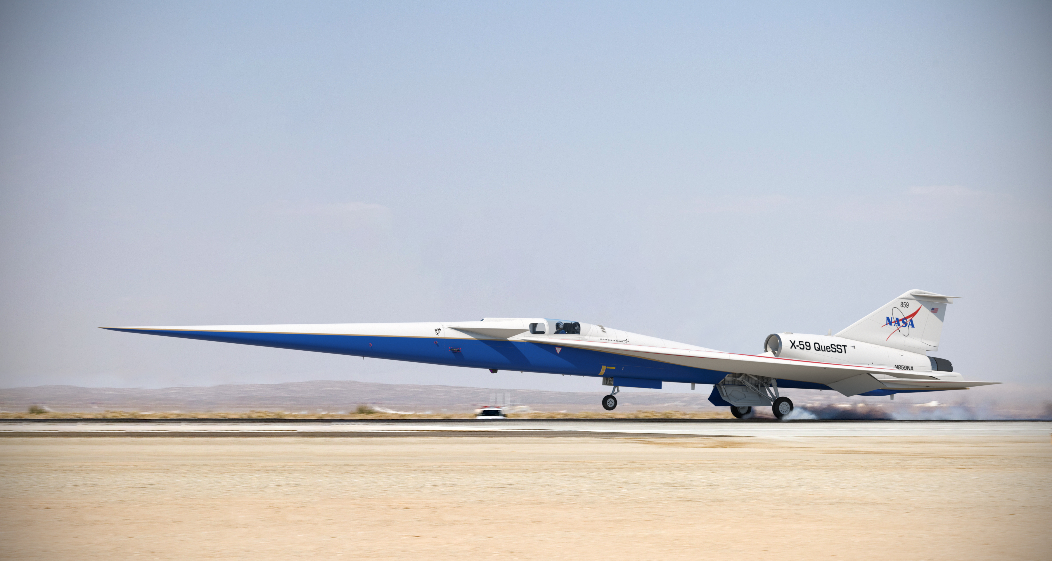 X-59 supersonic test aircraft gets final assembly nod