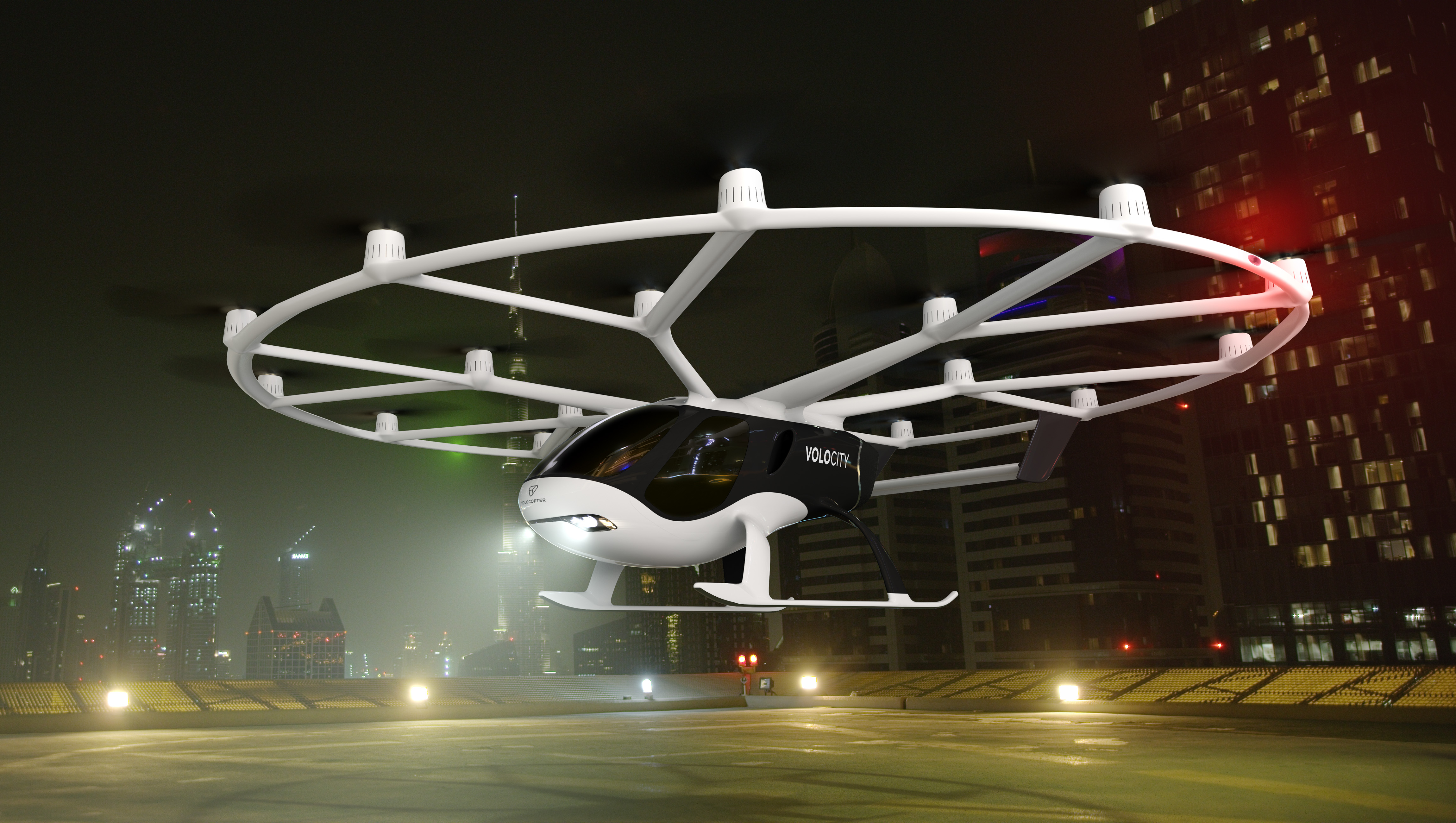 Volocopter introduces its most powerful flying taxi yet