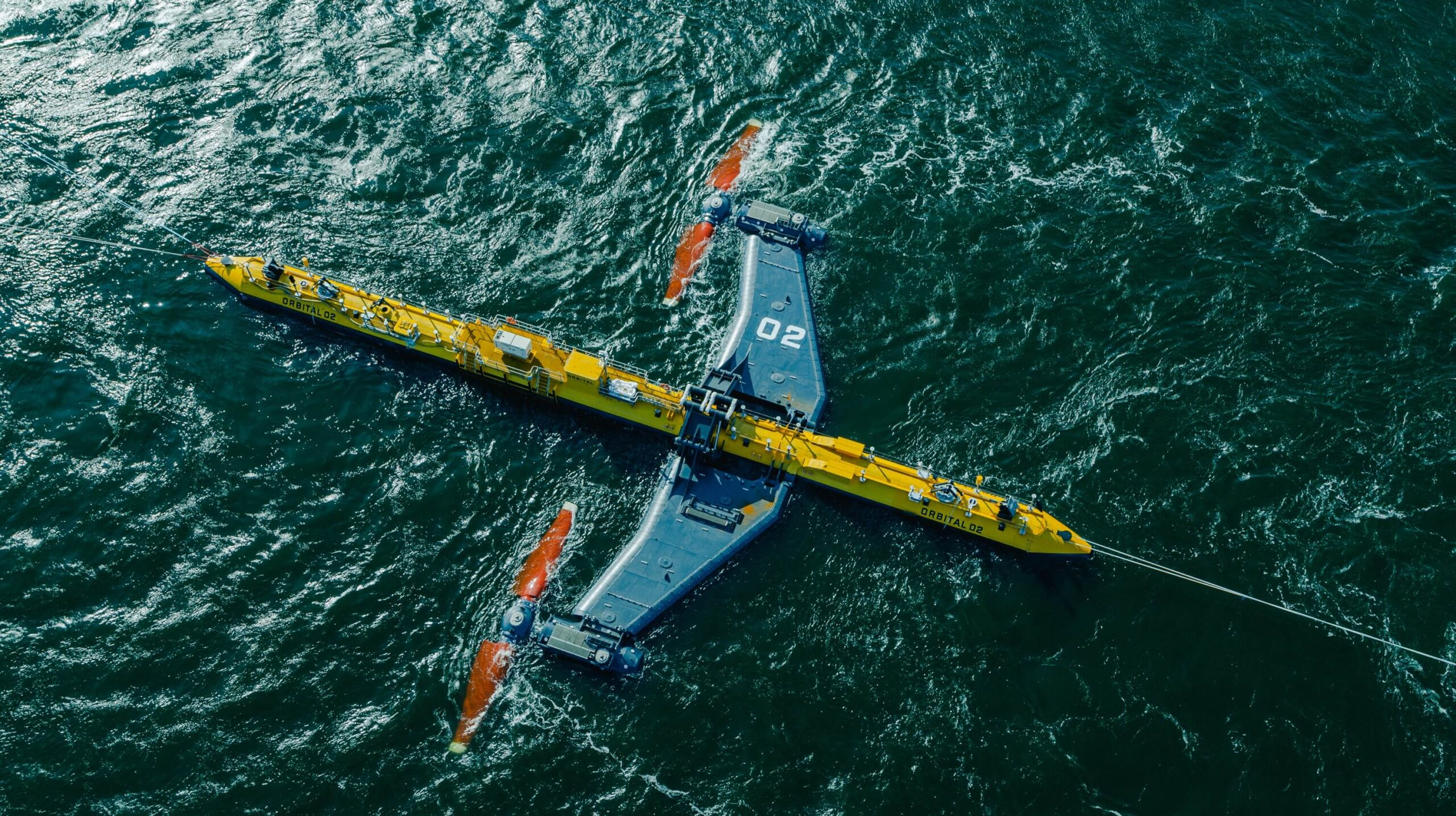 Orbital's O2 floating tidal power platform is rated at 2 MW, and it's designed to harvest tidal power much more cheaply than barrage-style installations