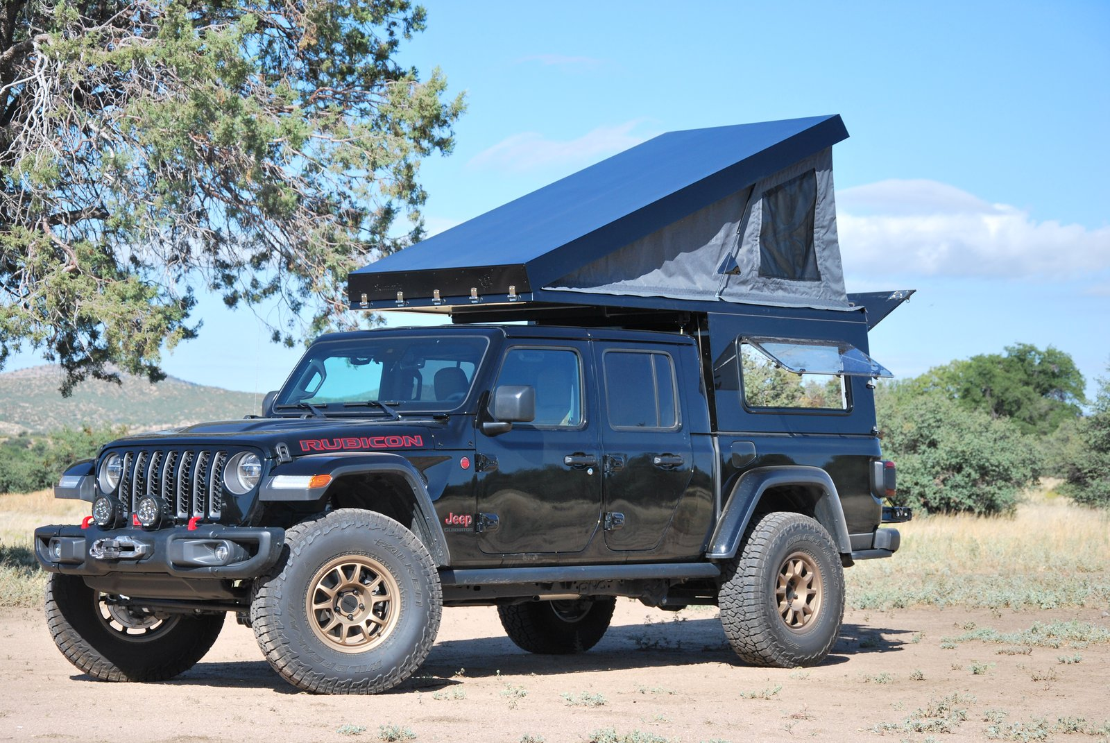 AT Overland Jeep Gladiator backcountry camper starts under $10K
