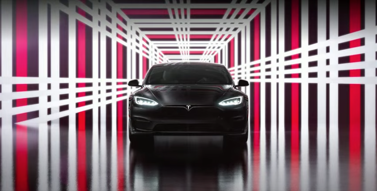CEO Elon Musk says that deliveries are already underway for Tesla's Model S Plaid