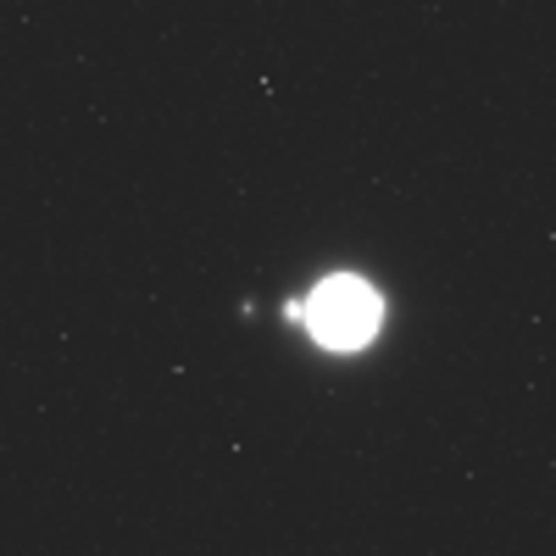 ESA's Juice deep-space Jupiter mission first images.