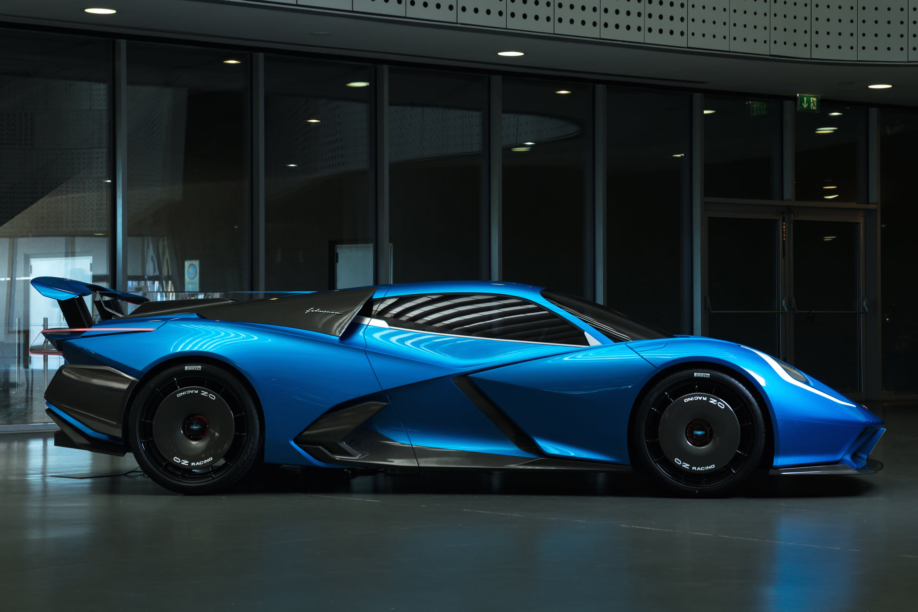 The Fulminea will be Automobili Estrema's first car, and while it may well debut as the most powerful car in the world, it's the battery that's got us interested